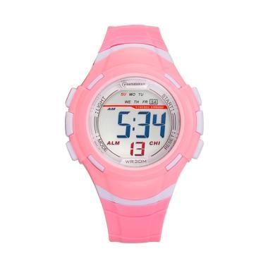 MINGRUI WT0177F Fashion Waterproof  ... gan Anak Perempuan - Pink