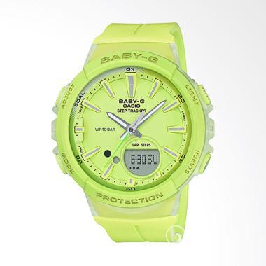 CASIO Baby-G BGS-100-9A Step Tracker Jam Tangan Wanita - Lime Green