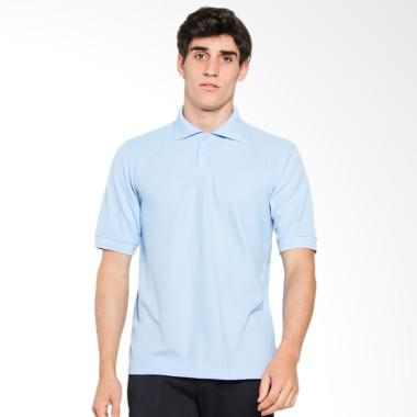 Papercut Men Dixon Polo Shirt Atasan Pria - Blue