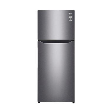LG GNC272SLCN Small 2 Door Refriger ...  - Silver [254 L/2 Pintu]