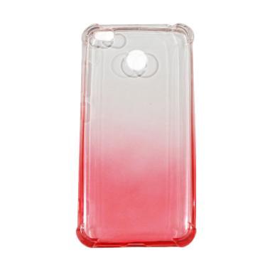 Winner Anti Crack Gradasi Silicon Casing for Xiaomi Redmi 4X - Red