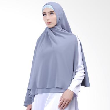Cantik Kerudung  No.6 Nazwa Khimar - Blue Grey