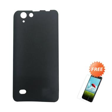 OEM Slim Softcase Casing for Infinix Hot 3 Lite X553 or X554 - Hitam Solid +