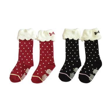 GBS Middle Sock Polka Set Kaos Kaki Anak