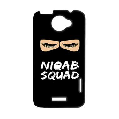 Premiumcaseid Hijab Niqab Squad Har ... for HTC One X - Jet Black