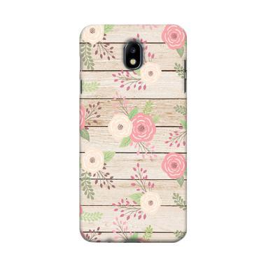 Premiumcaseid Shabby Chic Pastel Rose Hardcase Casing For Samsung Galaxy J7 Pro