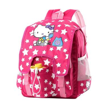 Inficlo SUM186 Hello Kitty Backpack Tas Sekolah Anak Perempuan