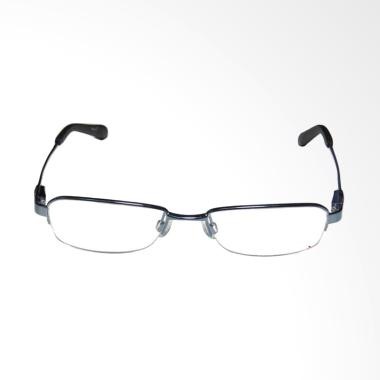 OEM Frame Halfrim Kacamata Plus dan Baca - Black [+300]