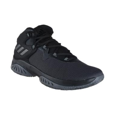 adidas Men Basketball Explosive Bounce Shoes - Black [CQ0216]