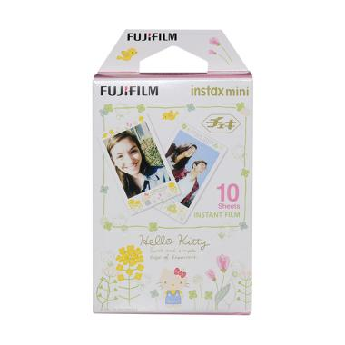 Fujifilm Hello Kitty Lovely Flower Refill Instax Mini Film [10 Lembar]