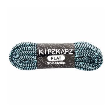 KipzKapz FS62 Flat Shoelace Zigzag Tali Sepatu - Mint [140cm]