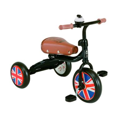 London Taxi Tricycle Sepeda Anak - Green