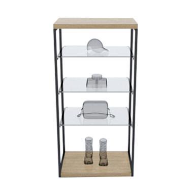 Free Stand Garment Hanger Rack System Rak Serbaguna