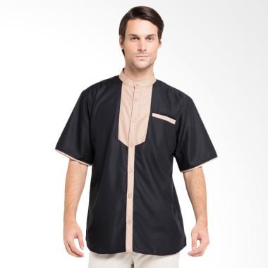 Allev Husni Shirt Baju Koko - Hitam