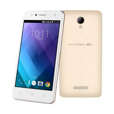 Smartfren Andromax A2 Smartphone - Gold [8GB/1GB] FREE UNLIMITED