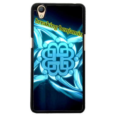 Flazzstore Breaking Benjamin American Metal Band Z0382 Custom Casing for Oppo Neo 9 A37