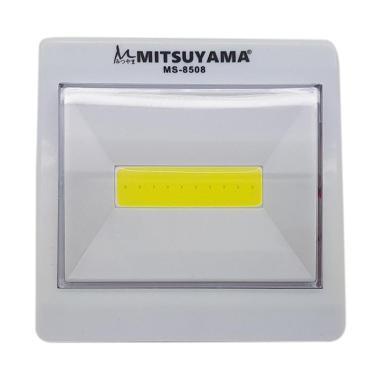 Lampu Emergency led COB with magnet Model Saklar MITSUYAMA MS-8508