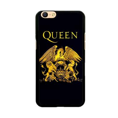 Flazzstore Queen Logo Gold Z0260 Custom Casing for Oppo A57 or Oppo A39