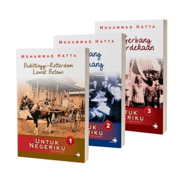 Kompas Untuk Negeriku Sebuah Otobiografi by Mohammad Hatta Buku Biografi [New Cover]