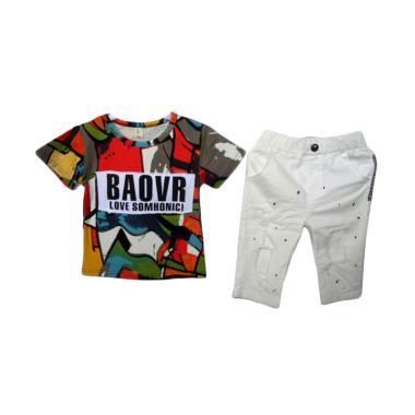 VERINA BABY Stelan Anak Atasan Colourful Plus Pants