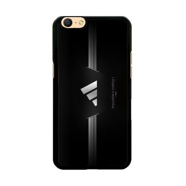 Flazzstore Adidas Black Z4334 Custom Casing for Oppo A57 or A39