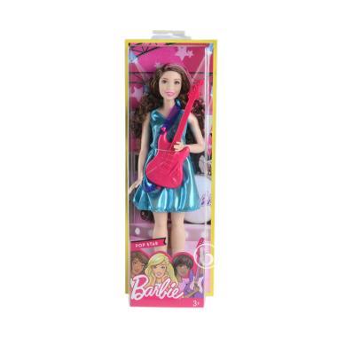 Barbie Career Doll Mainan Anak - Pop Star