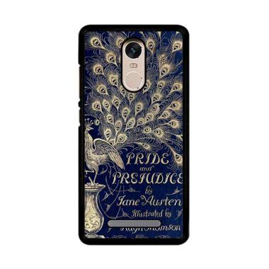 Flazzstore Cover Book Jane Austen Z0111 Custom Casing for Xiaomi Redmi Note 3 or Note 3