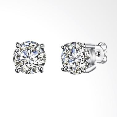 SOXY SVE064 The New Fashion Simple  ...  8M Diamond Stud Earrings