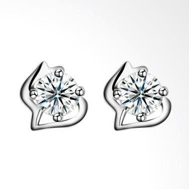 SOXY SH-E0078 New Fashion Simple Ladies 925 Sterling Earrings - Silver
