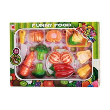 Toystoys 0960150113 Funny Food Buah Potong Mainan Anak