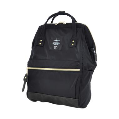 Anello Backpack Rucksack Mini Size AT-B1492 High Density Nylon - Black