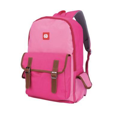 Catenzo Jr. Backpack Tas Sekolah Anak Perempuan - Pink