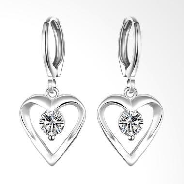 SOXY LKNSPCE626 New Exquisite Fashi ... -Shaped Earrings - Silver