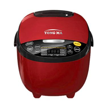 Yong Ma YMC211 Digital Rice Cooker - Merah [2L]