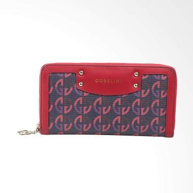 Gobelini R 2322 Playful Pattern Dompet Wanita - Red