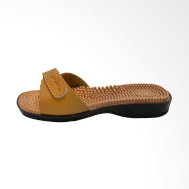 Yunnan Sandals Classic DR61 Sandal Duri Kesehatan - Light Brown