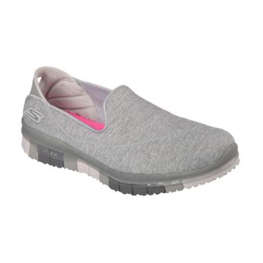 Skechers Go Flex Muse Wmns Shoes Sepatu Olahraga Wanita [14010GRY]