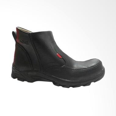 Kickers Phelix Safet Boots Sepatu Pria - Hitam
