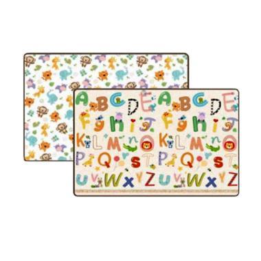 Parklon PE Roll Mat Jungle Alphabet ... las Bermain Bayi [Size L]