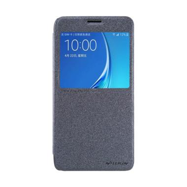 Nillkin Sparkle Leather Flip Cover Casing For Samsung Galaxy J7 2016