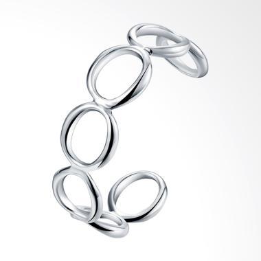 SOXY LKNSPCB013 New Fashion Round Shape Bracelet - Silver