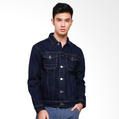 Carvil Jaket Pria - Blue Jeans [JET-80]