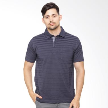 Osella Men Arnett Polo Shirt Pria - Navy