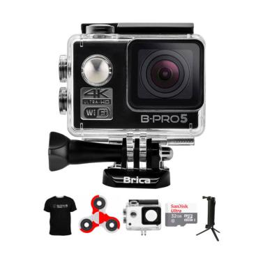 BRICA B-PRO 5 AE Mark II AE2 Combo  ... ndo Action Camera - Hitam