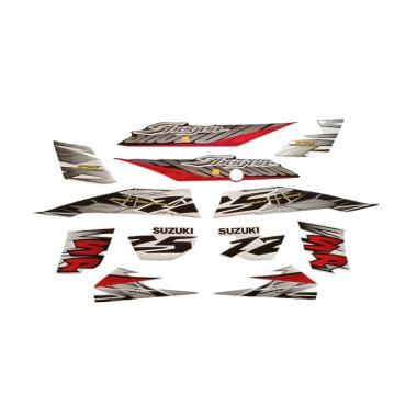 harga Idola Striping Aksesoris Body Motor for Shogun SP 2007 - Hitam Putih Blibli.com