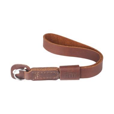 Hevy HS 04 Leather Strap Gelang untuk Kamera Mirrorless - Coklat Tua