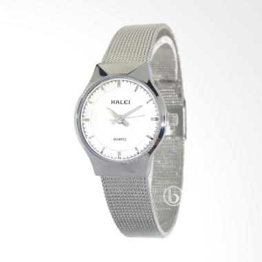 Halei 554L Casual Jam Tangan Wanita - Silver White