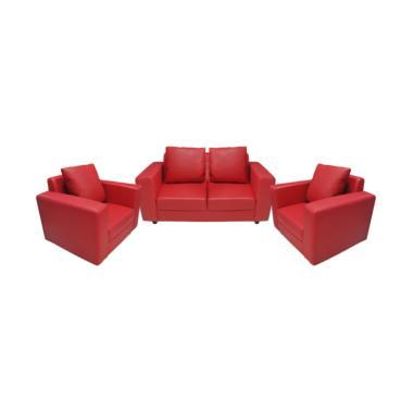 FCENTER Verbena 211 Sofa - Merah [Pulau Jawa*)