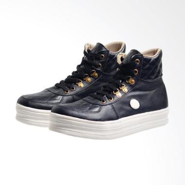 Syaqinah 045 Sepatu Boots Wanita - Hitam