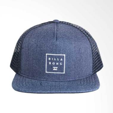 Billabong Stacked Trucker Navy Heather Mahwnbst Nheall Topi